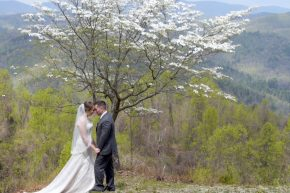Bride Groom Leatherwood Mountain