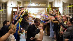 Croasdaile Country Club Wedding Exit