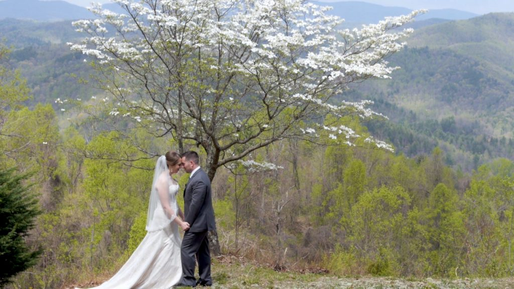 Bride Groom Leatherwood Mountain