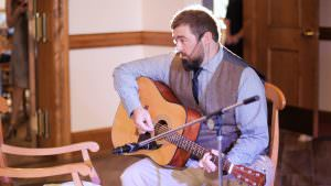 Groom Sings to Bride