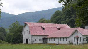 Jefferson NC Family Farm Barn