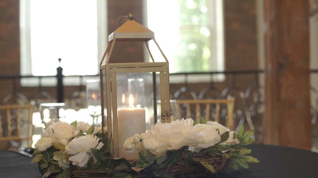 Revolution Mill Wedding Decor
