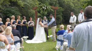 Small Intimate Wedding Ceremony