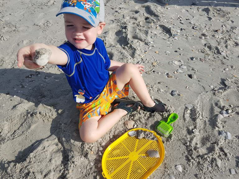 Child Sand Myrtle Beach