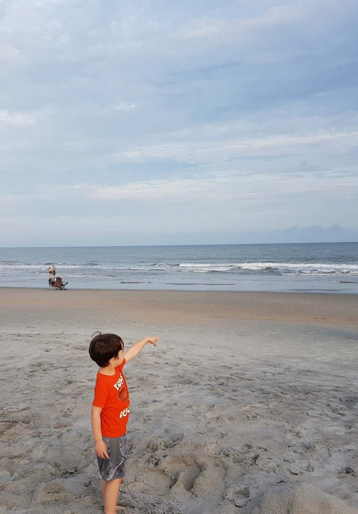 Child at Myrtle Beach