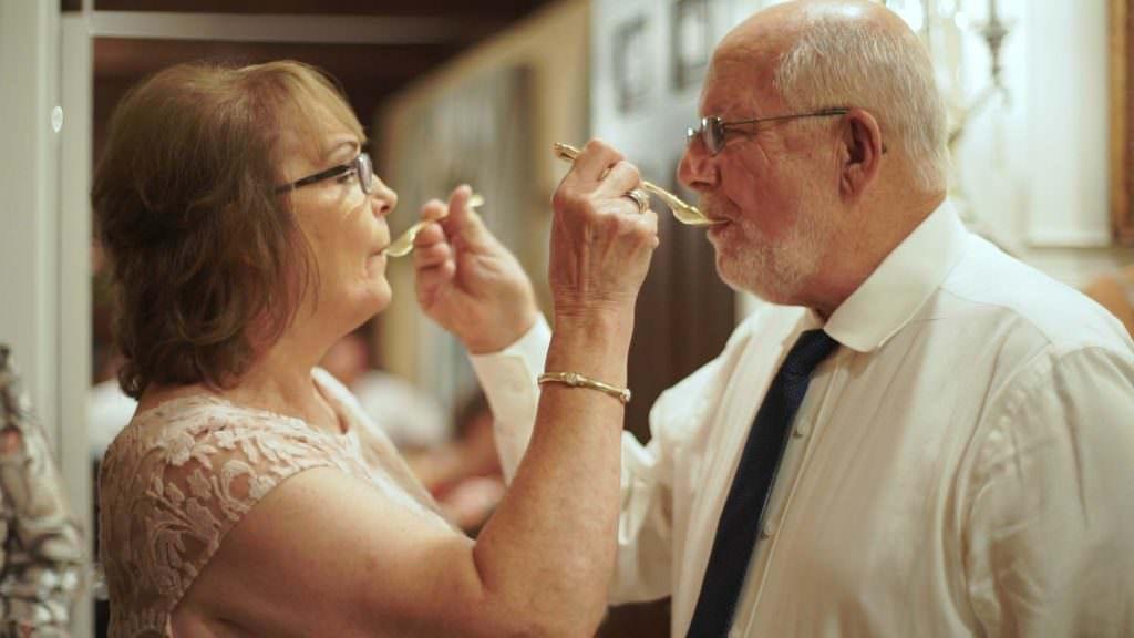 Grandparents Wedding Cake