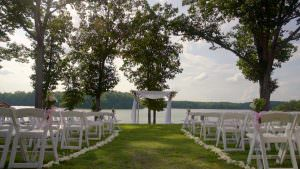 Lakeside Wedding Day