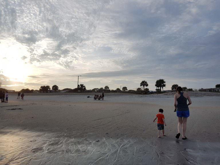 Myrtle Beach Ocean Sunset