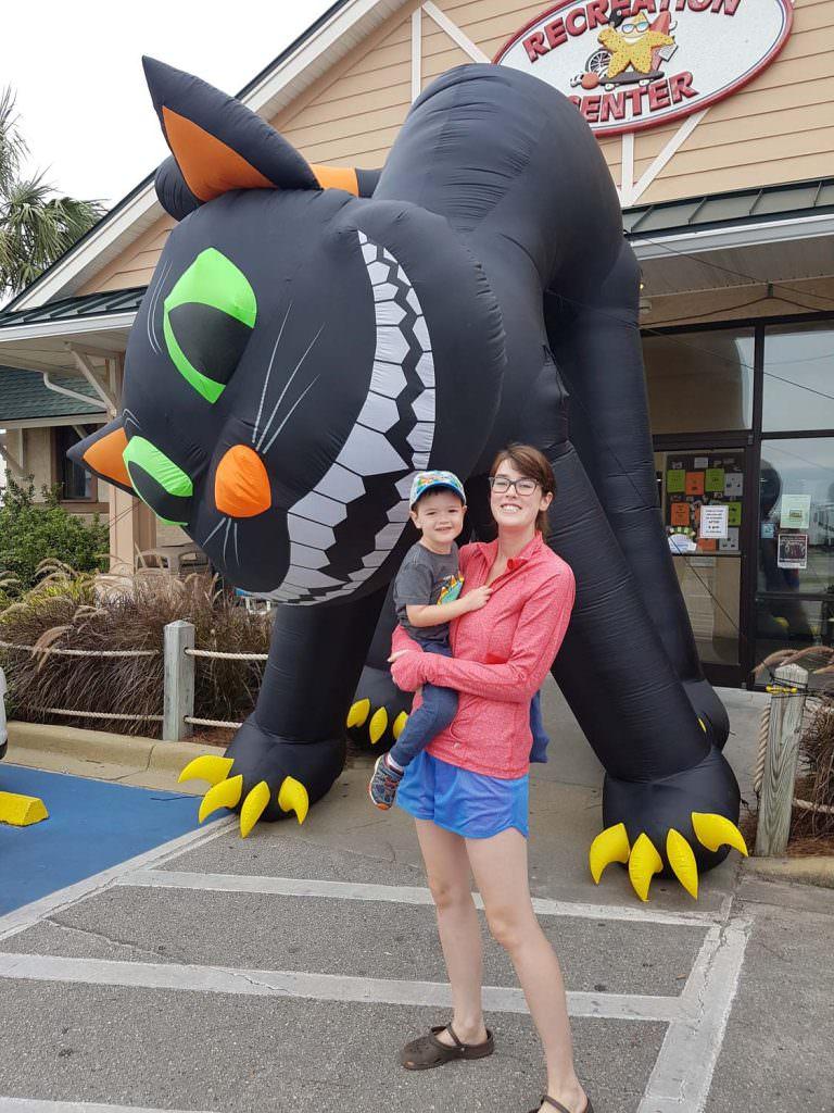 Ocean Lakes Halloween Cat