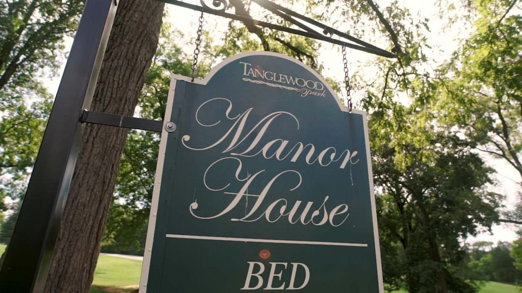 Tanglewood Manor House Sign