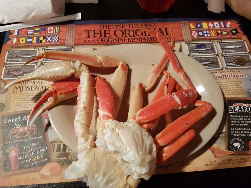 The Original Benjamins Crab Legs