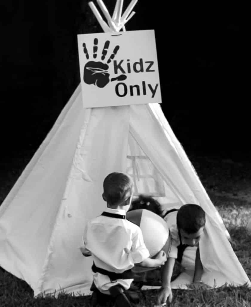 Children Wedding Tent