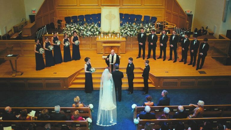 First Presbyterian Winston-Salem Wedding