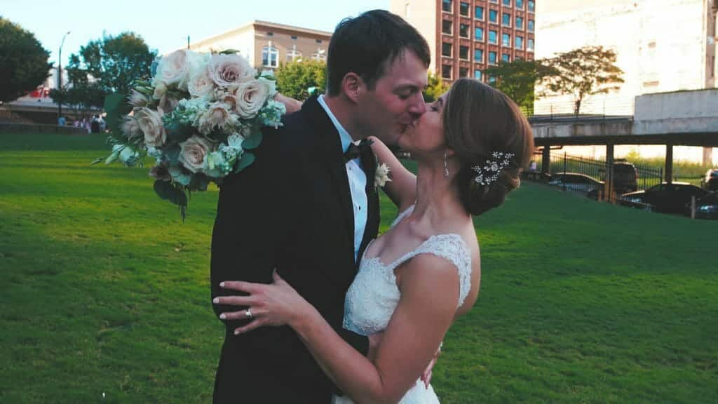 Winston-Salem Downtown Wedding