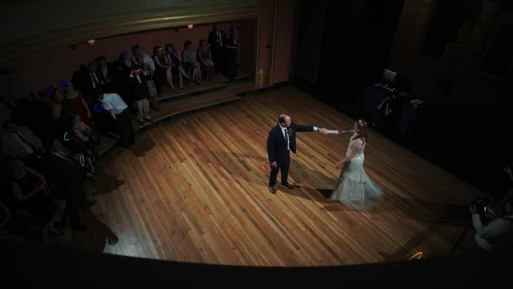 Bride Groom Theater Dance