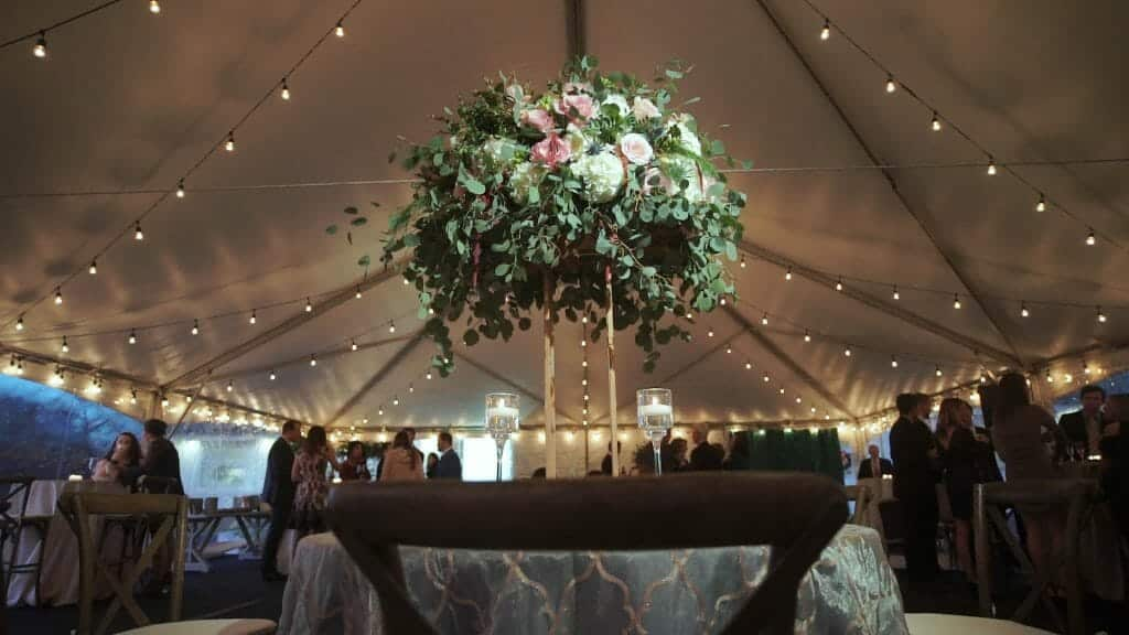 Tall Wedding Florals
