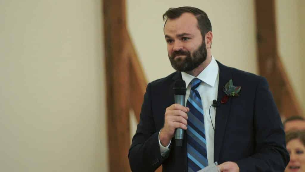 Best man speech at Winmock