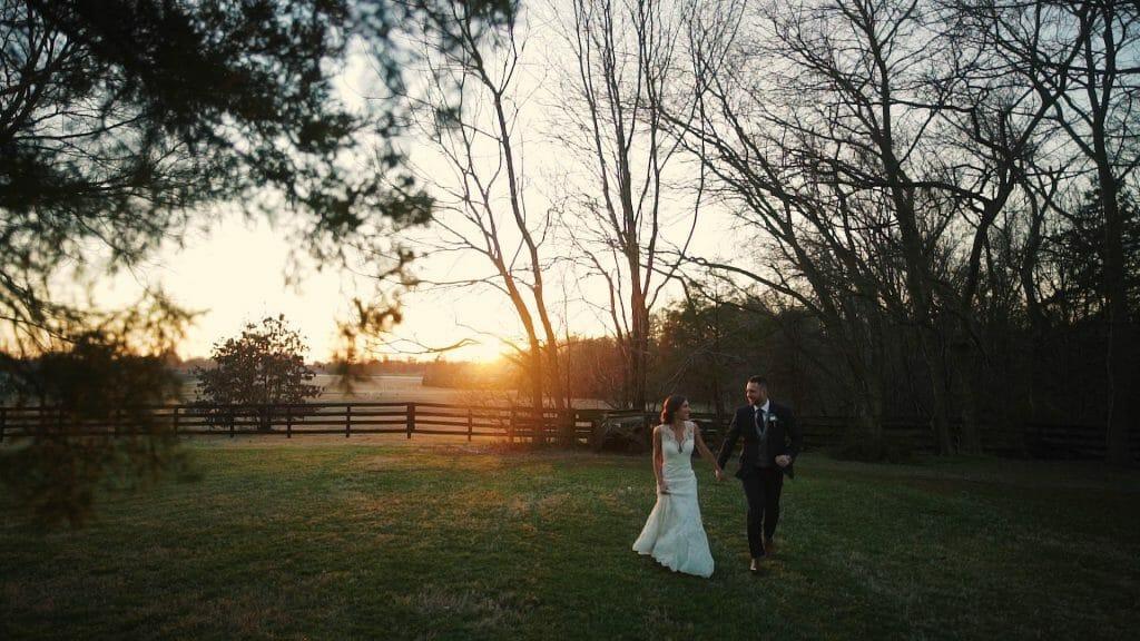 Lake Norman Wedding Sunset