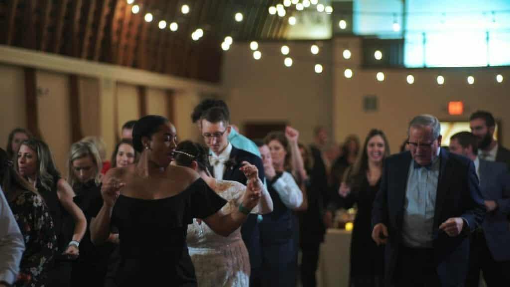 Winmock Reception Dancing