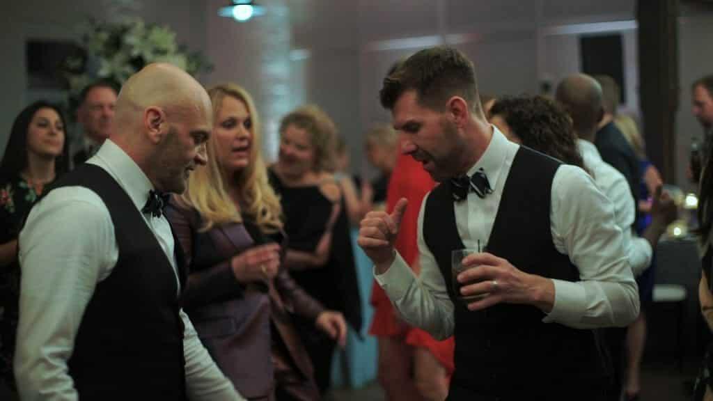 Gay Wedding Dancing