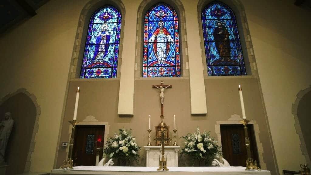 Gorgeous Catholic Wedding