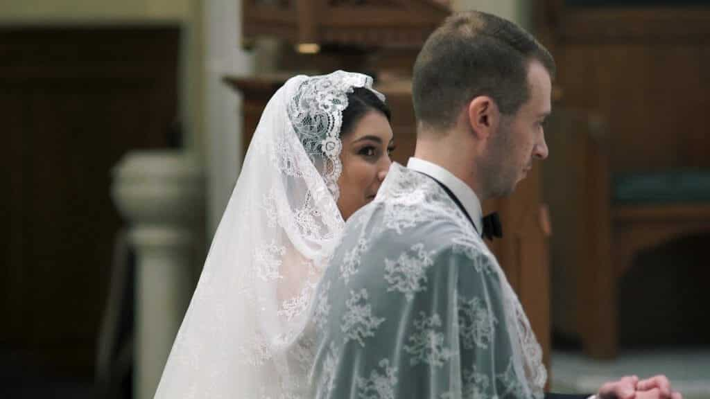 Mantilla Cuban Bride