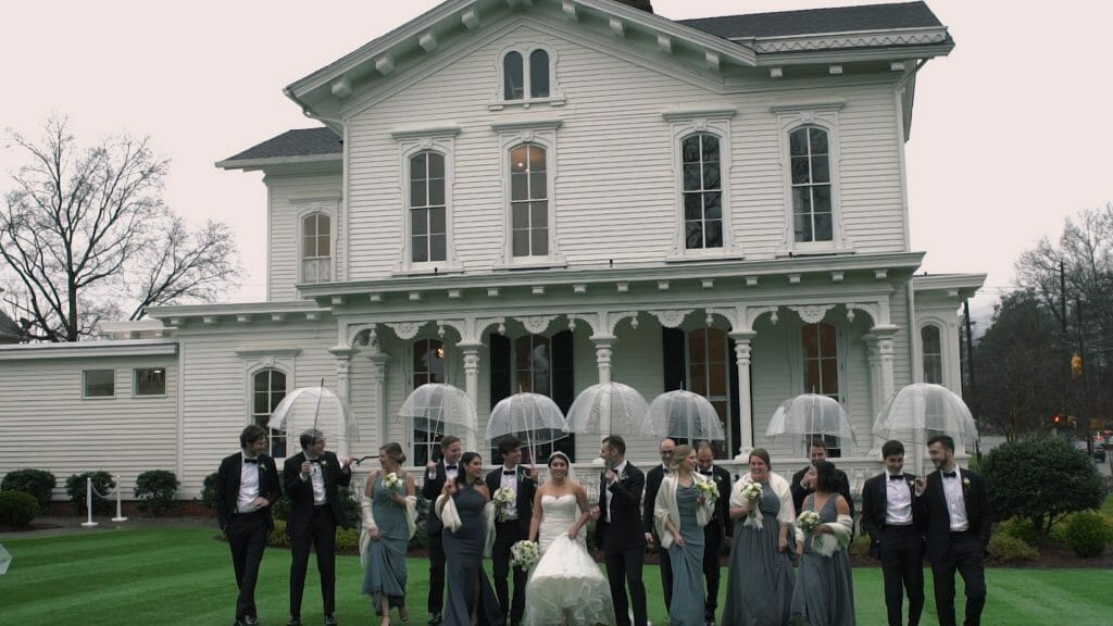 Merrimon-Wynne House Bridal Party
