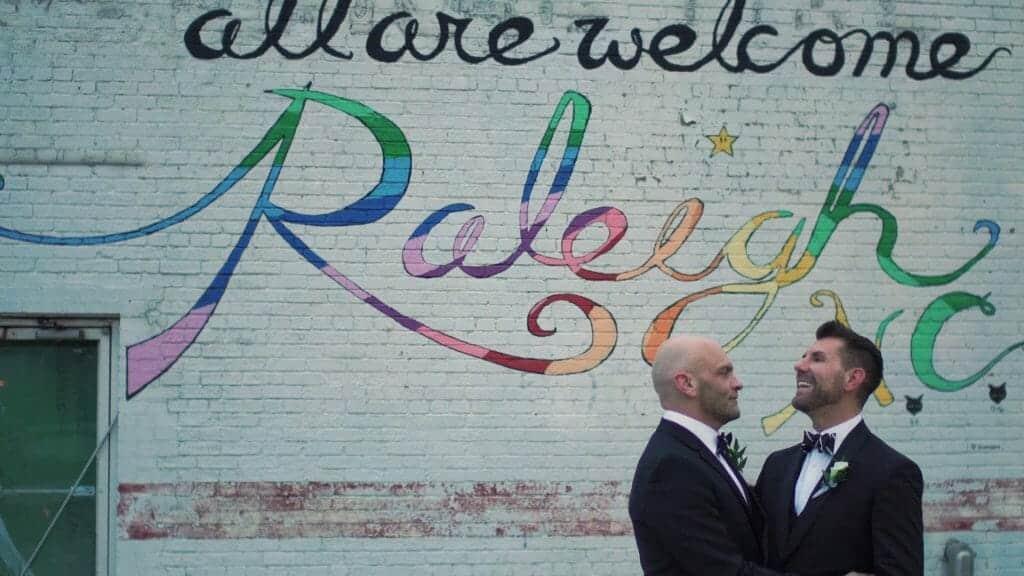 Raleigh Gay Mural