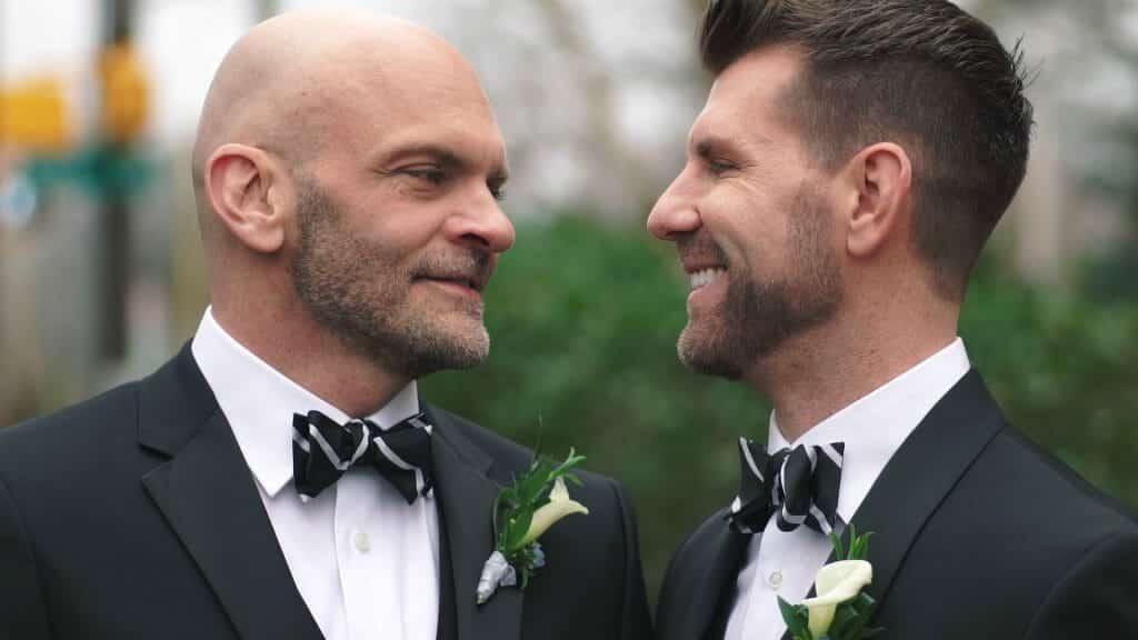 Two Grooms Wedding