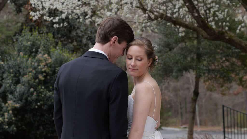 Durham Bride and Groom