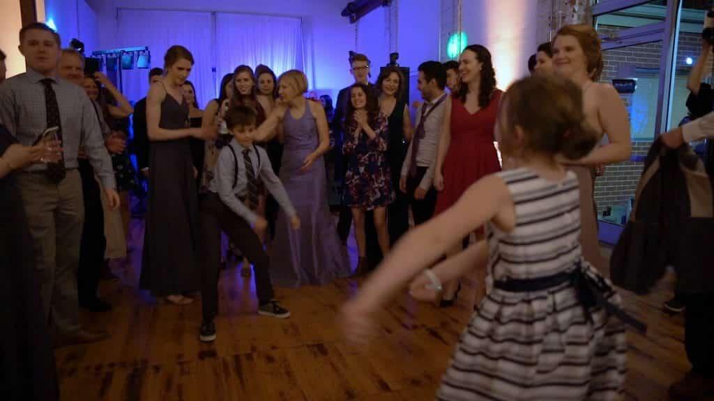 Wedding Reception Kids Floss Dancing