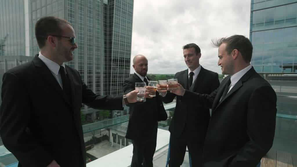 Groomsmen Rooftop Drinks