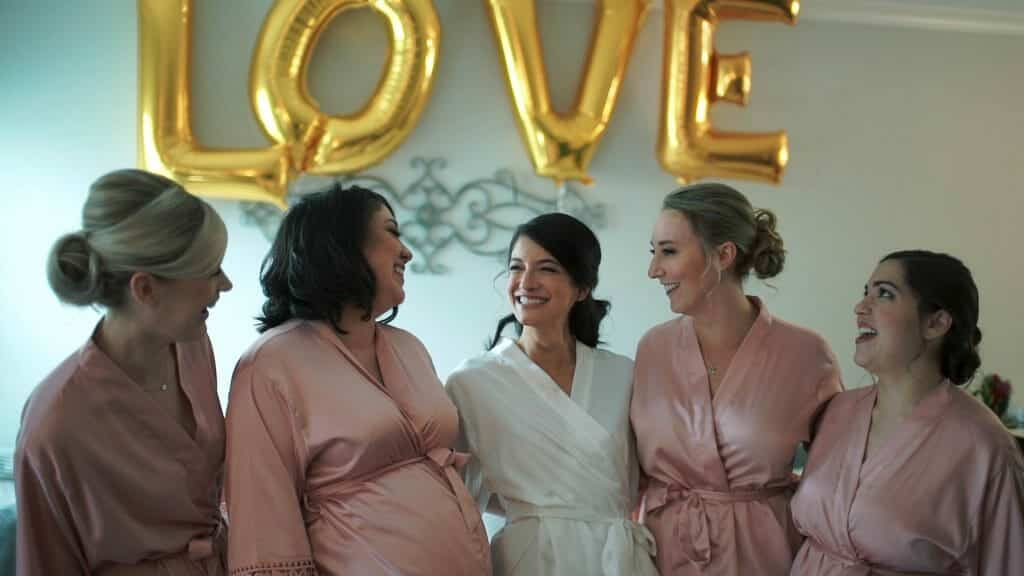 Jennie and Bridesmaids