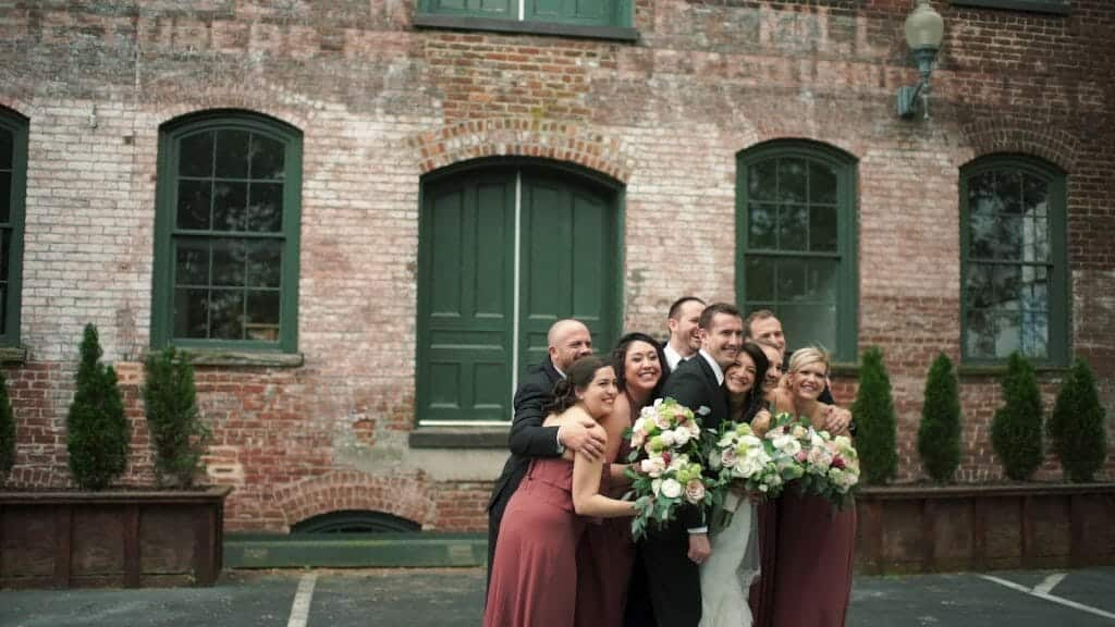 Melrose Knitting Mill Bridal Party