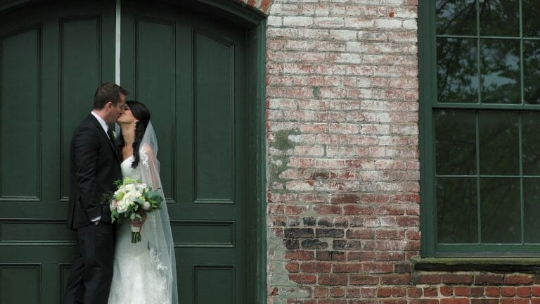 Jennie & Taylor | Melrose Knitting Mill Wedding