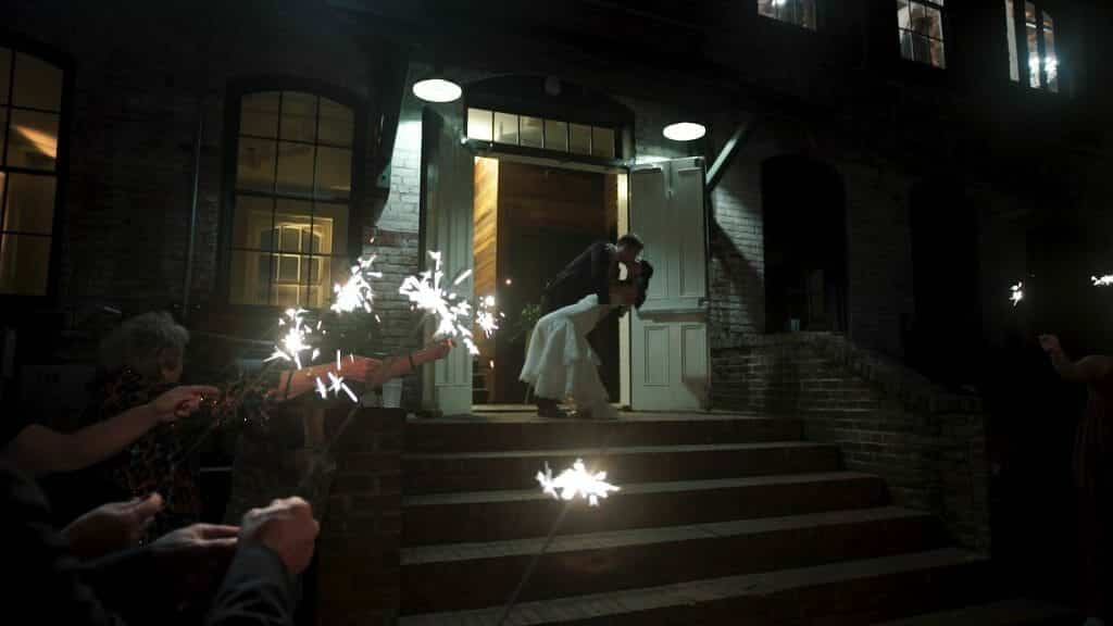 Melrose Knitting Mill Wedding Sparklers