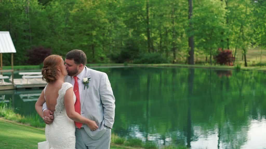 Chapel Hill Carriage House Pond Kiss