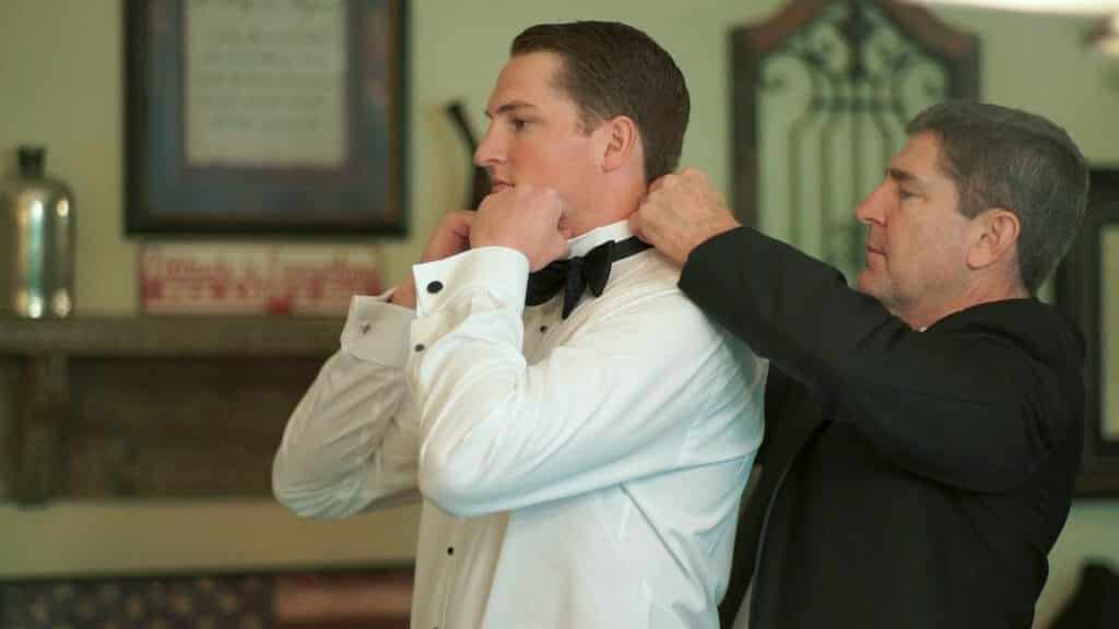 Groom and Father Prep
