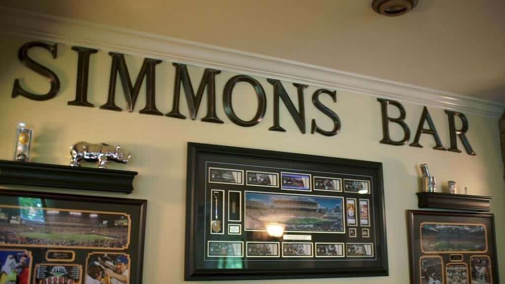 Simmons Bar Man Cave