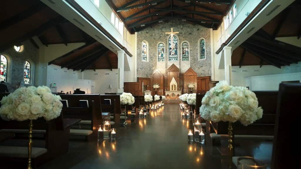Saint Pius X Wedding Ceremony