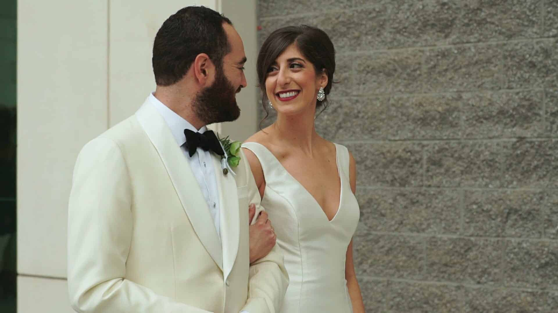 Downtown Charlotte Jewish Wedding
