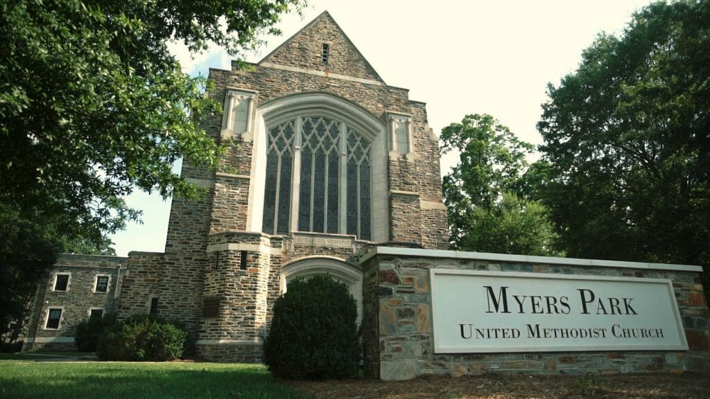 Myers Park Methodist Wedding