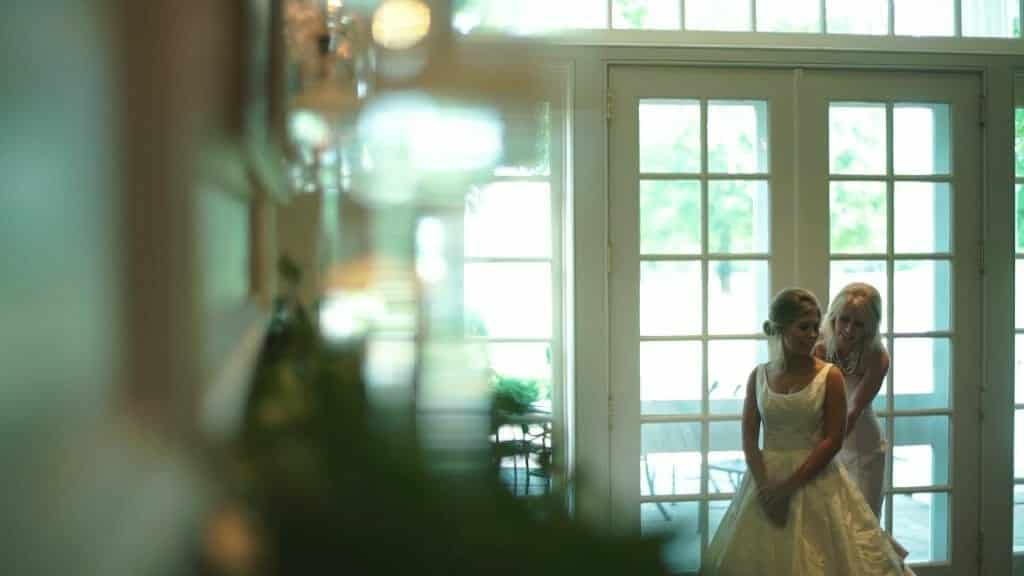 Quail Hollow Bride Getting Dressed