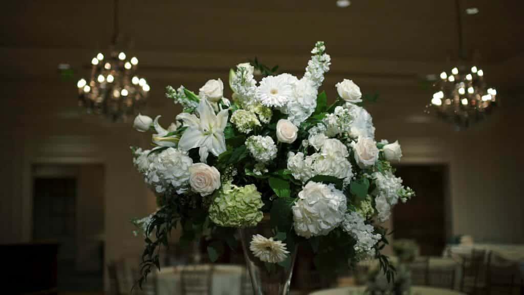 Quail Hollow Wedding Florals