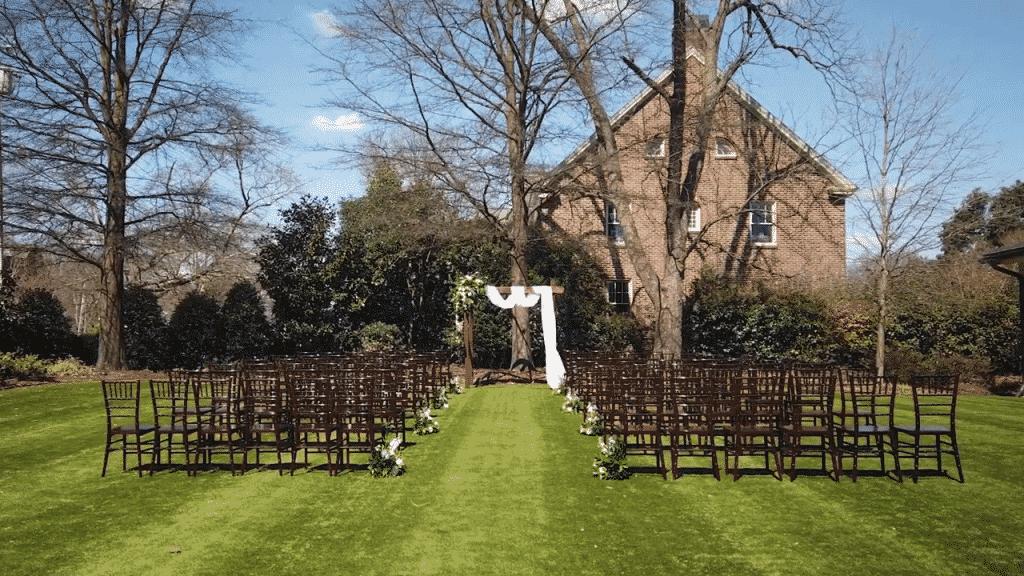 ceremony site raleigh wedding video